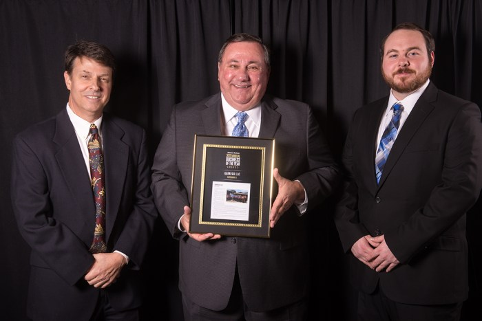Garreco honored at 2018 Arkansas Business of the Year Awards
