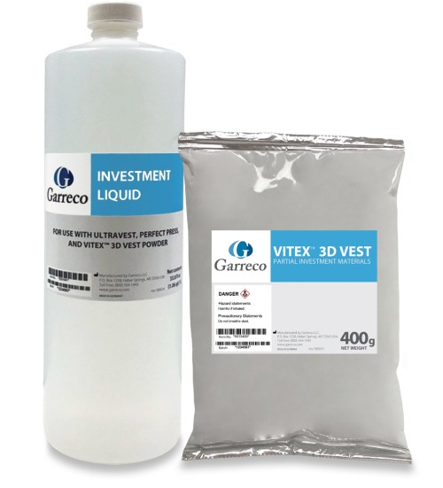 Vitex 3D Vest Partial Investment Material