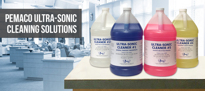 Ultra-Sonic Cleaning Solutions for Dental Labs