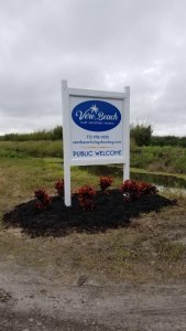 Vero Beach Clay Shooting Landscaping remodel in Vero Beach