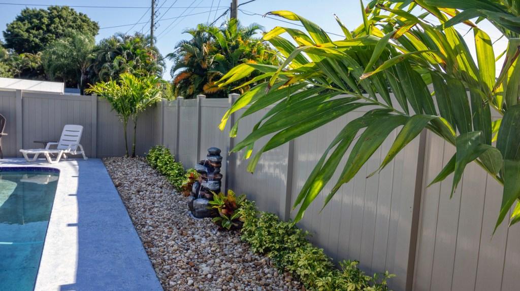 Backyard landscape design, landscape maintenance, property management, Vero Beach & Sebastian, FL  32960 32963