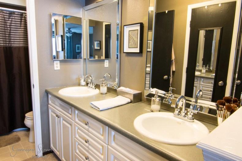 Simple Master Bathroom Updates Garrison Street Design Studio