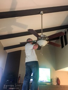 A New Modern Ceiling Fan