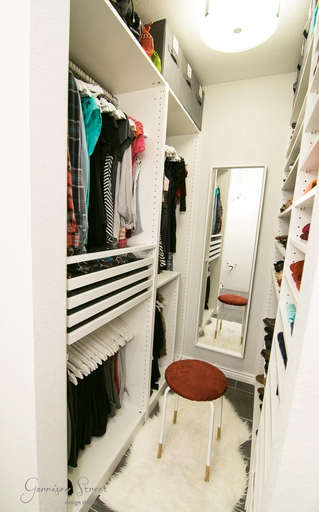 Ideas Of Functional And Practical Walk In Closet For Home: Small Walk-In Closet PAX Big Storage