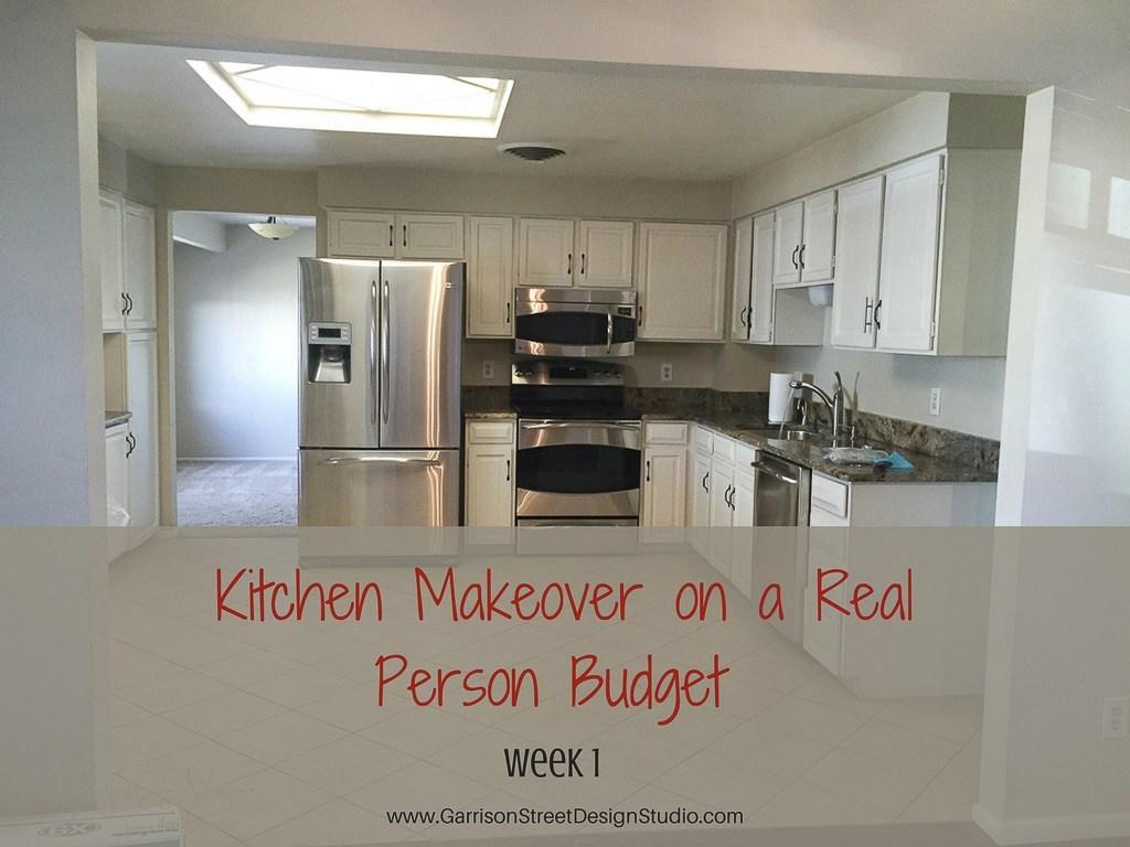 Kitchen makeover on a real person budget garrison street design studio