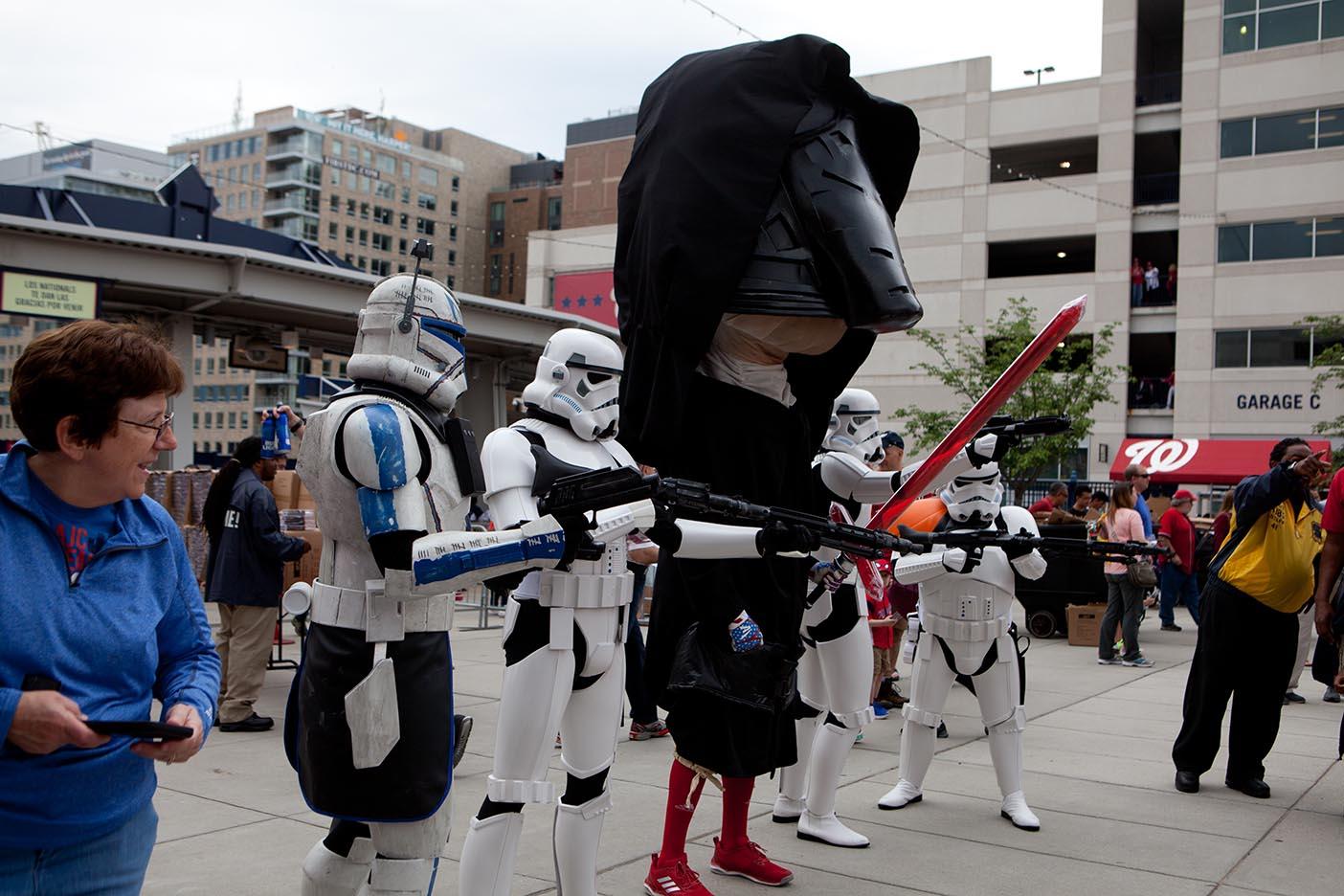 Star Wars Day 2017 @ Washington Nationals