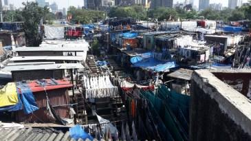 The Dhobi Ghat in Mumbai.