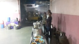 The caterers.