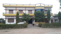 Guesthouse in Orai where Garry stayed for the night.