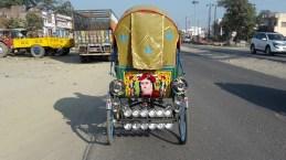 A rickshaw in Gopalganj