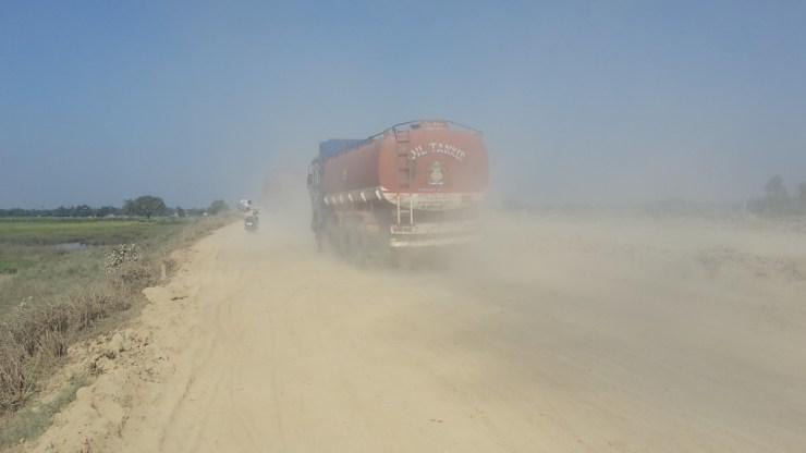Dusty roads
