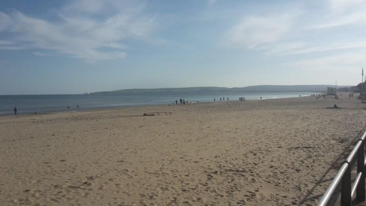 Poole beach