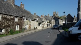 Cottages in Corfe Castle