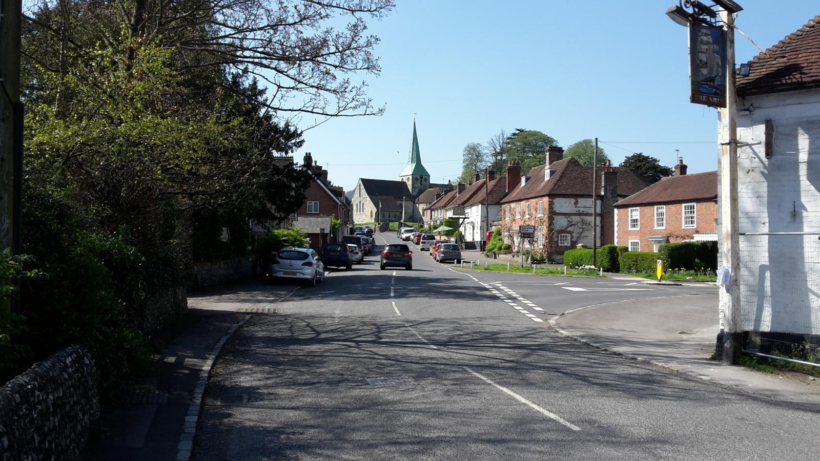 South Harting village