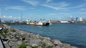 Cowes floating bridge