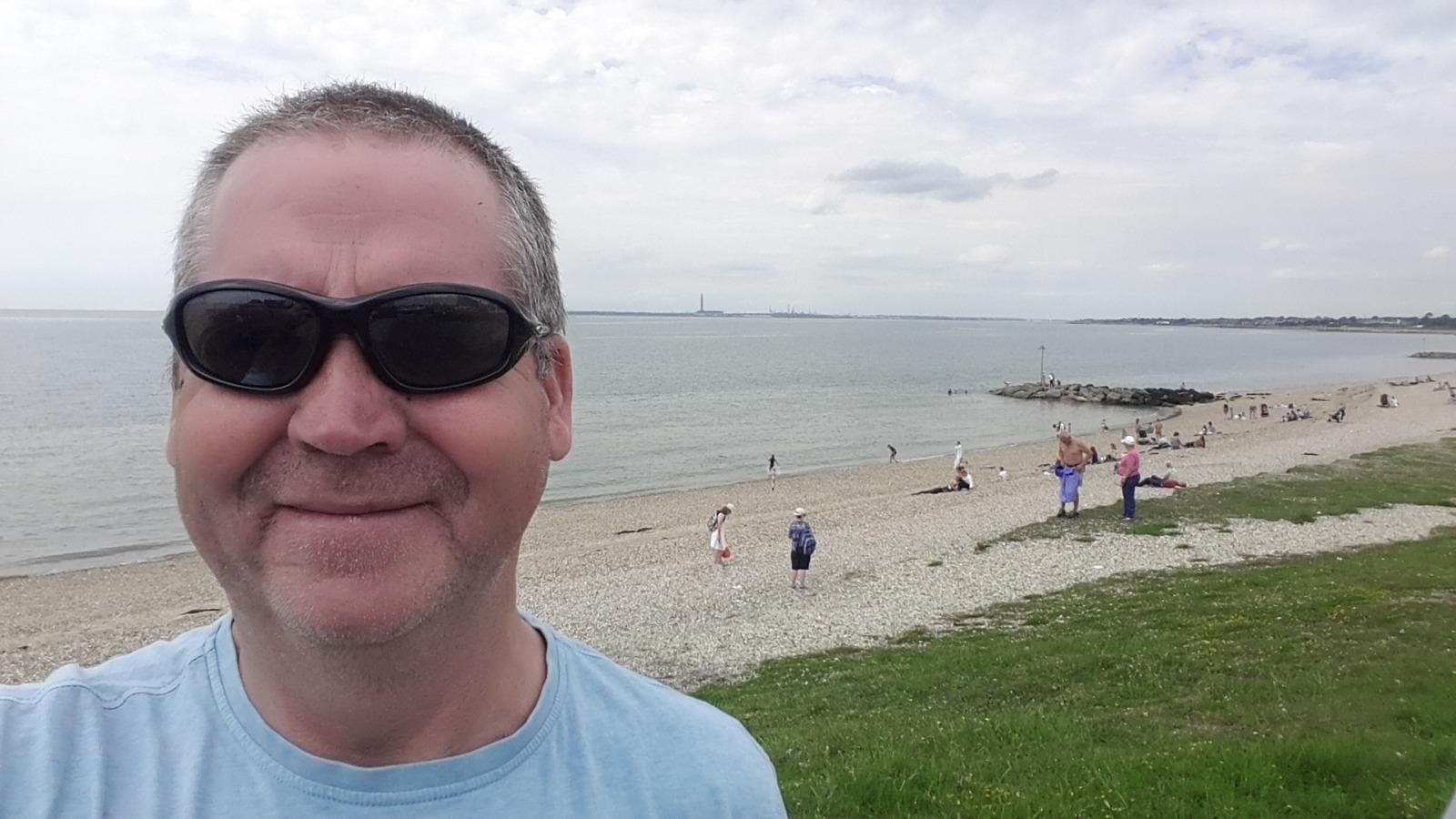 Garry McGivern at Stokes Bay