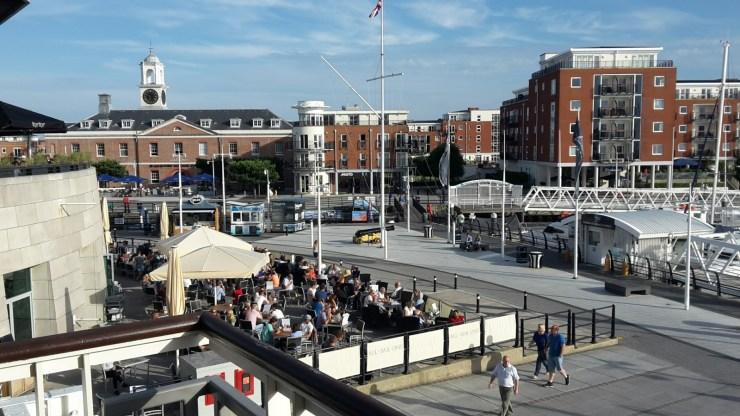 Gunwharf quays Porstmouth