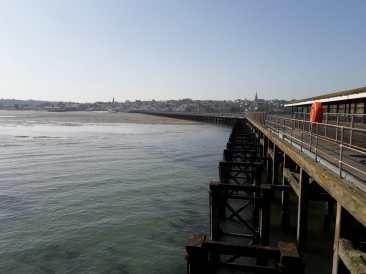 Pier and sea