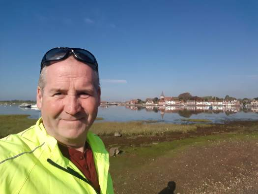 Garry McGivern at Bosham quay