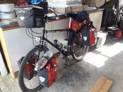 Touring bike