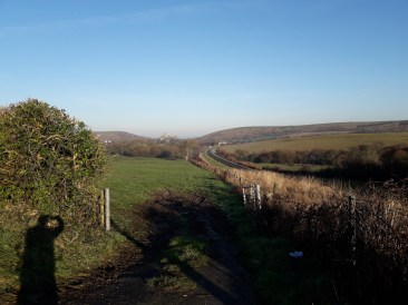 Hills and trainline