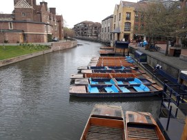 Punts on a river