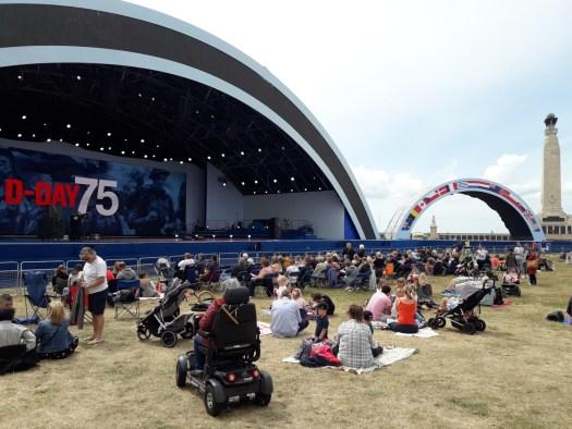 People stage