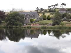 House beside the Inishcarra Reservoir