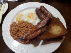 Lovely breakfast to set me up for the day