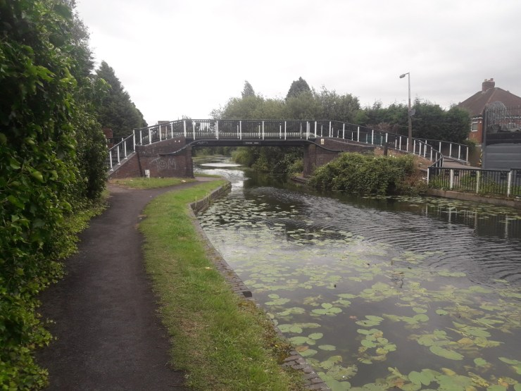 Canal and bridge