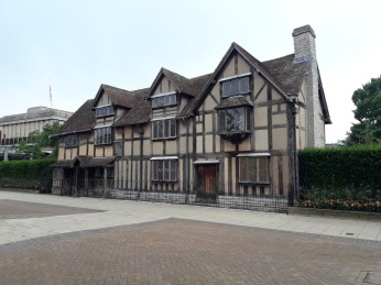 Shakespeare's birth place apparently!