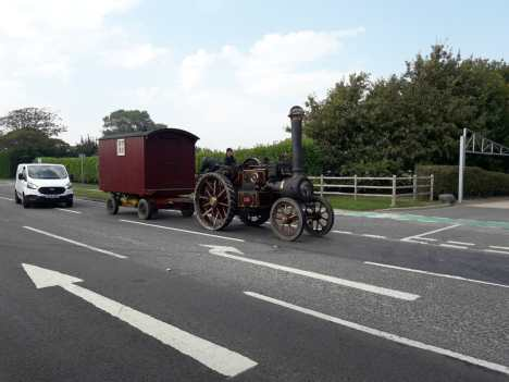 Passed this old steam engine on the way to Portsmouth
