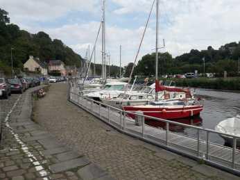Boats at Dinan