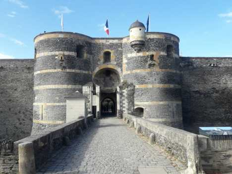 Chateau in Angers