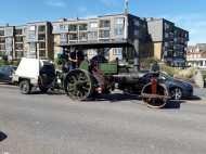 Old fashioned steam engine