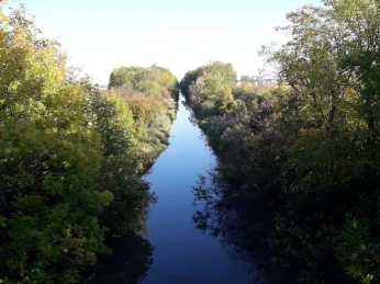 The old Canal du Rhone au Rhine