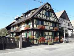 Pretty houses here in Alsace