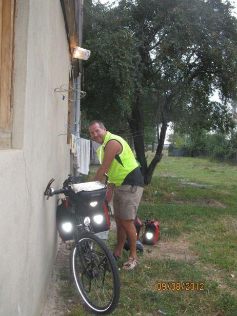 Man and bike