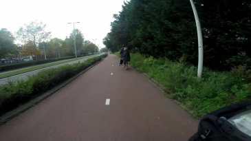 Boy girl bike