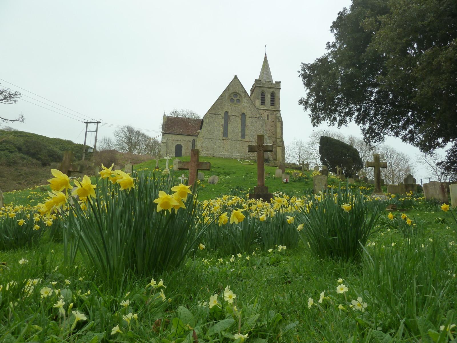 Hulverstone church Isle of Wight