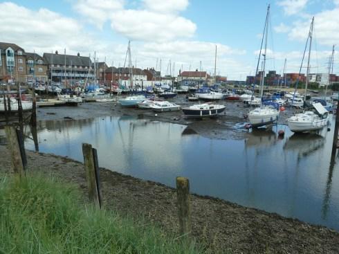 Boats at Eling