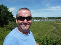 Garry McGivern along the river Medina