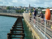 Fisherman on Ryde pier