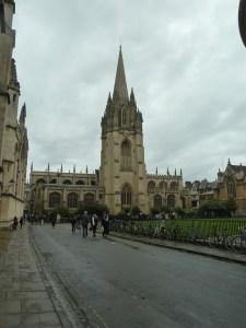 University Church of St Mary the Virgin