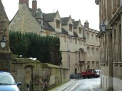 Houses down a lane