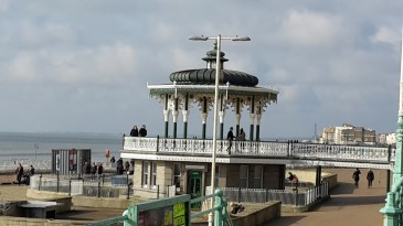Bandstand on Brighton prom