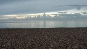 Bognor Regis beach early morning