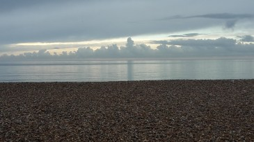 Bognor Regis beach early morning