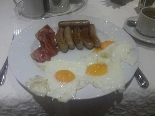 Breakfast in Pforzheim, Germany