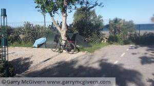 Spanish campsite